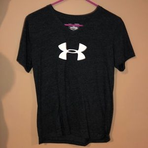Charcoal V-Neck Under Armour t-shirt